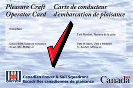 Pleasure Craft Operator Card Ontario